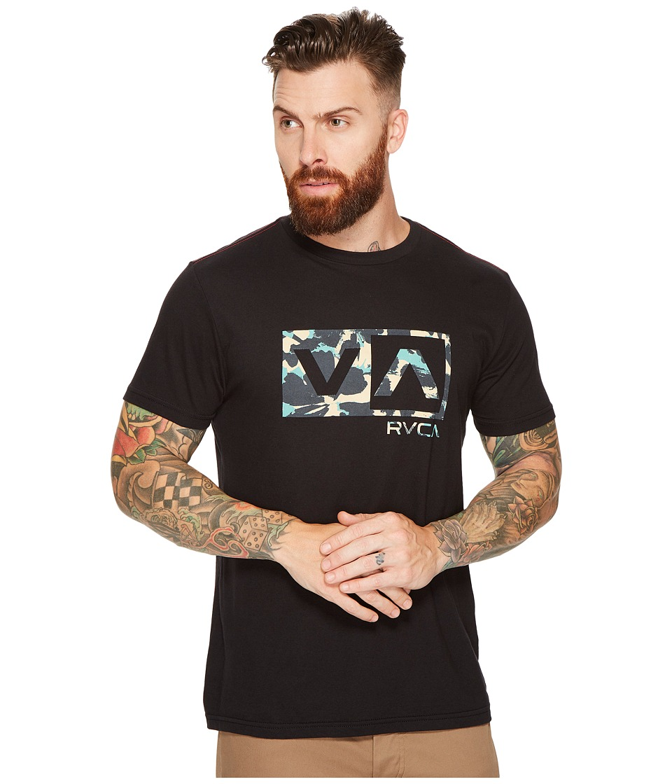 RVCA - Southeast Box Tee (Black) Men's T Shirt