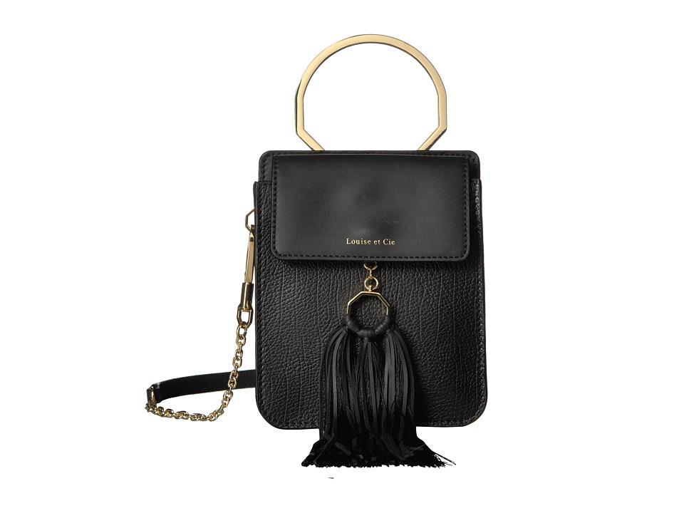 Louise et Cie - Julea Bracelet Bag (Black) Wristlet Handbags