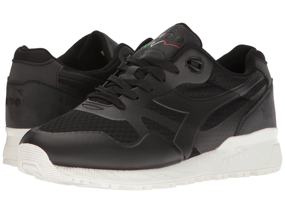 Diadora - N9000 MM (Black) Athletic Shoes