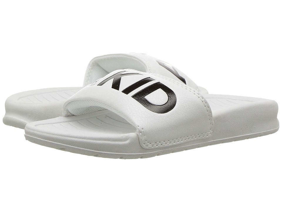 AKID Brand - Aston (Infant/Toddler/Little Kid/Big Kid) (White) Kids Shoes