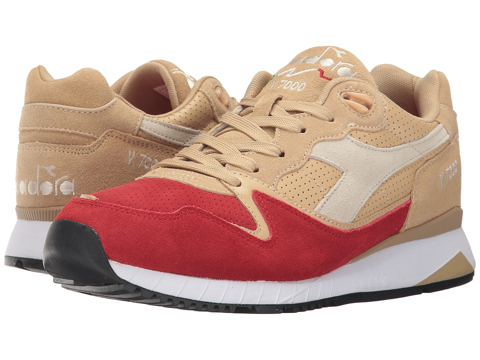 Diadora V7000 Premium (Golden Straw) Athletic Shoes