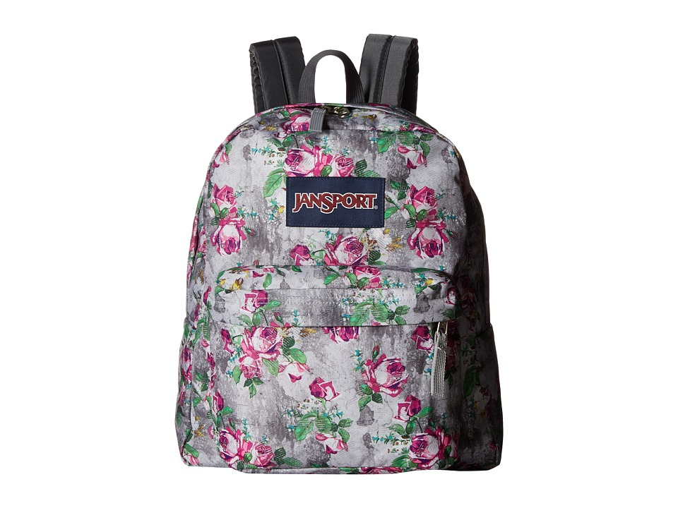 JanSport - Spring Break (Multi Concrete Floral) Backpack Bags