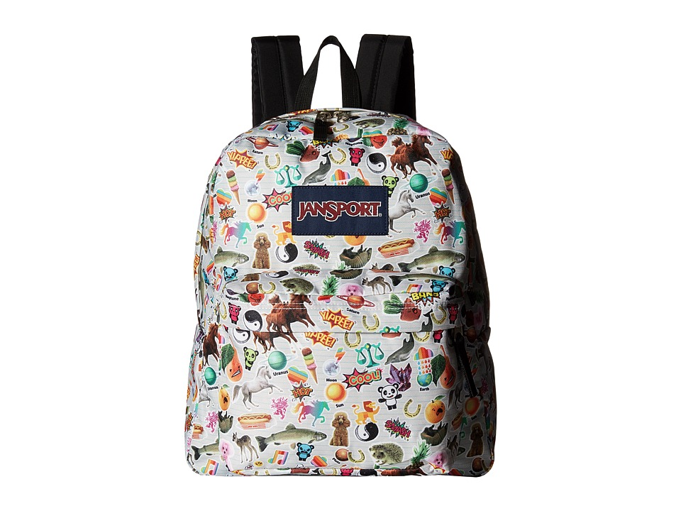 JanSport - Spring Break (Multi Stickers) Backpack Bags
