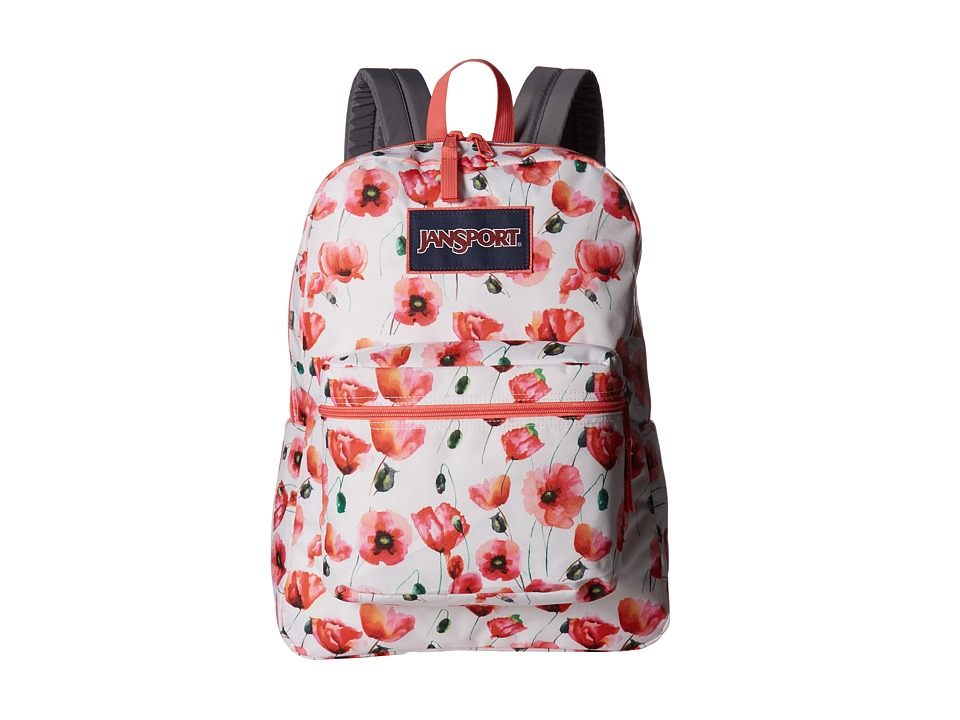 JanSport - Overexposed (Multi Cali Poppy) Backpack Bags