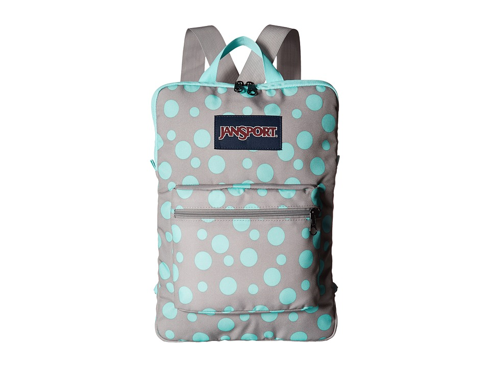 JanSport - Superbreak Sleeve (Grey Rabbit Sylvia Dot) Day Pack Bags