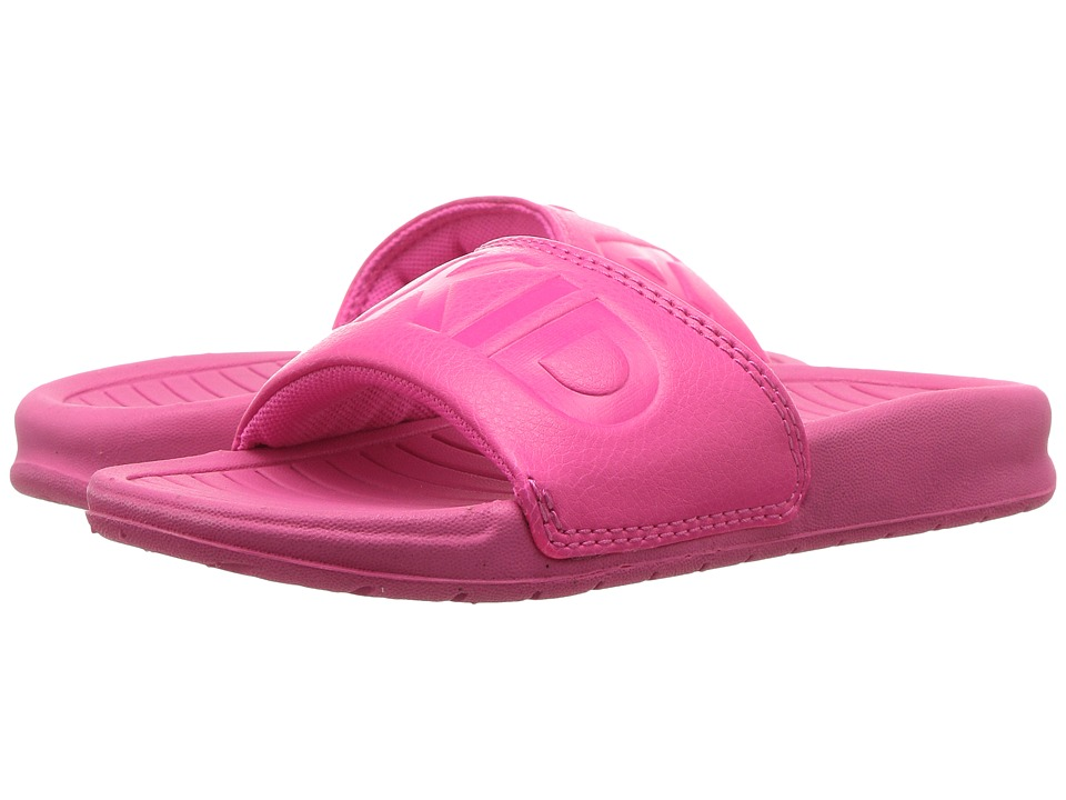 AKID Brand Aston (Infant/Toddler/Little Kid/Big Kid) (Hot Pink) Girls Shoes