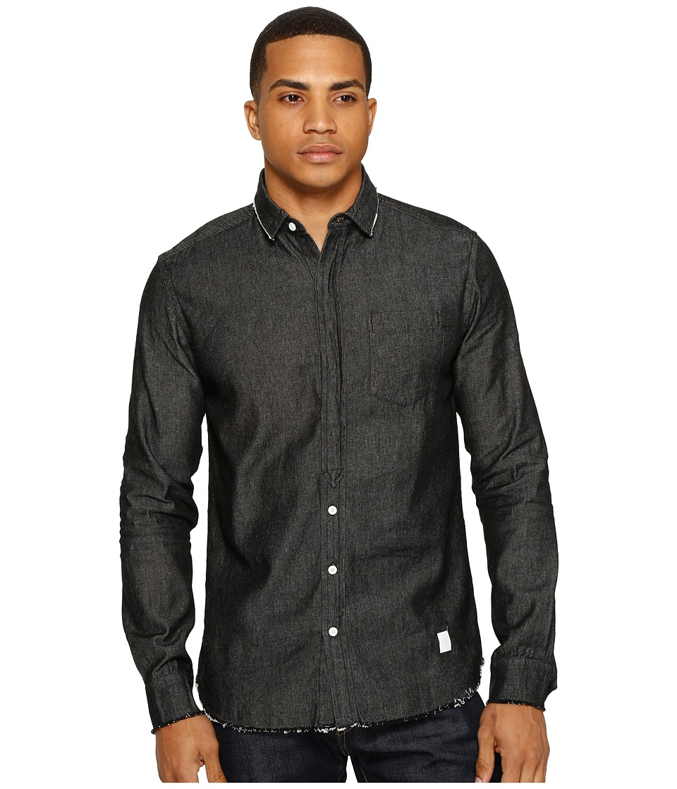 Akomplice - Temple Button Up (Charcoal) Men's Clothing