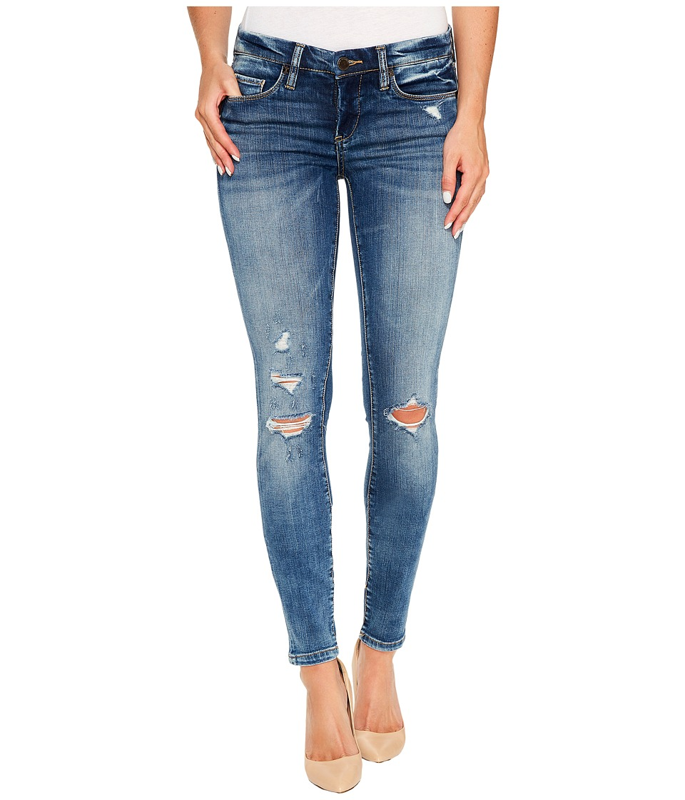 Blank NYC Denim Distressed Skinny with Studs On Back in Coffee Nap (Coffee Nap) Women
