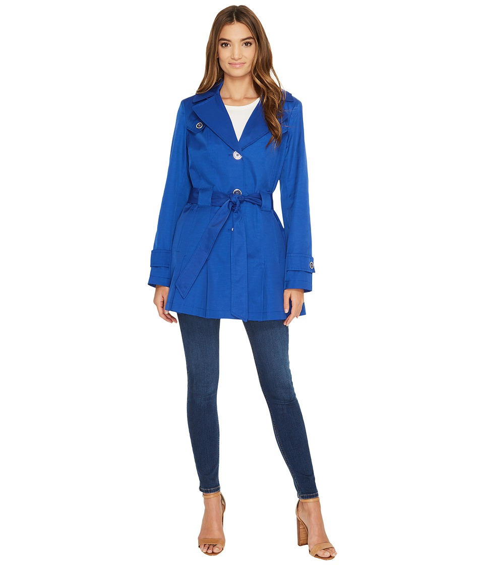 Via Spiga - Spread Collar Spring Coat (Positano) Women's Coat