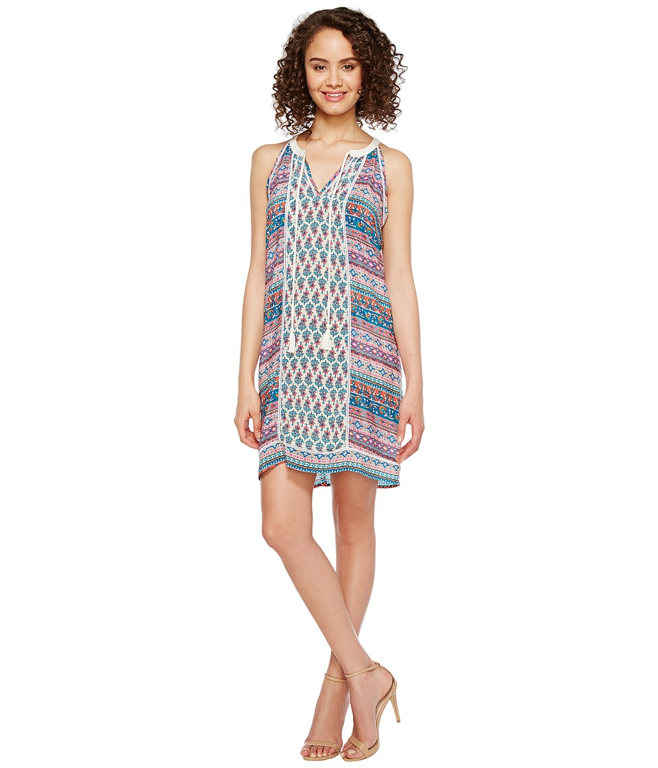 Tolani - Savannah Sleeveless Tunic Dress (Ditsy) Women's Dress