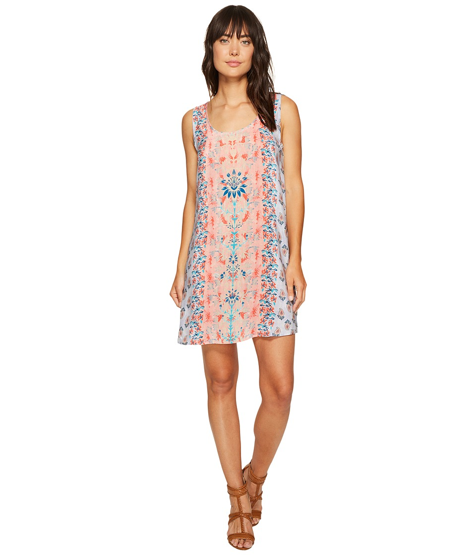 Tolani Rita Sleeveless Tunic Dress (Orchid) Women