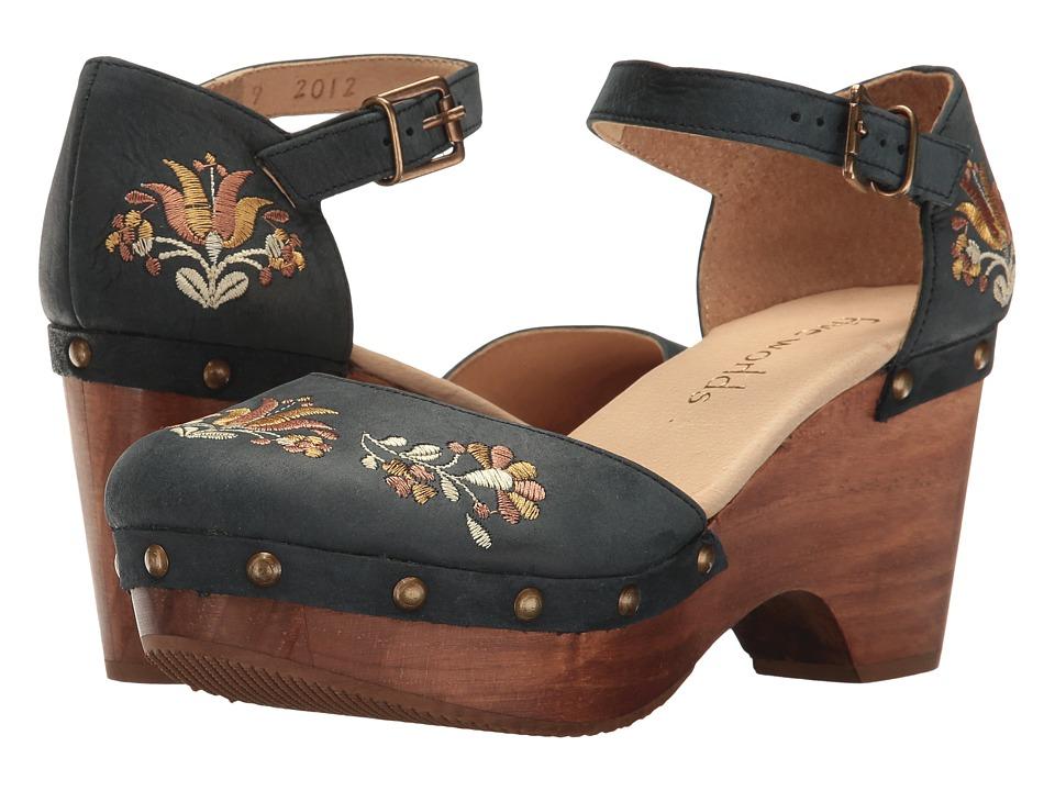 Cordani - Zandra (Blue) Women's 1-2 inch heel Shoes