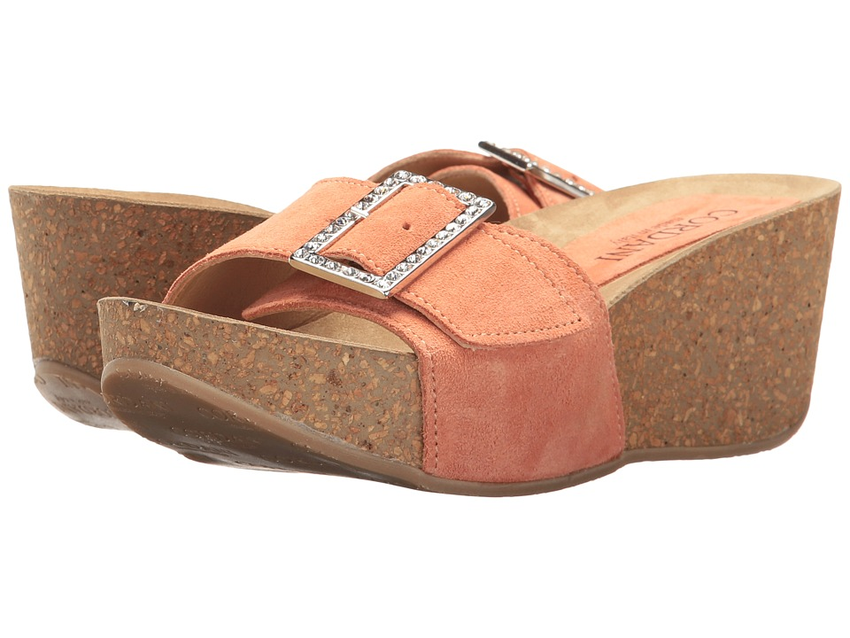 Cordani - Arista (Papaya Suede) Women's Wedge Shoes