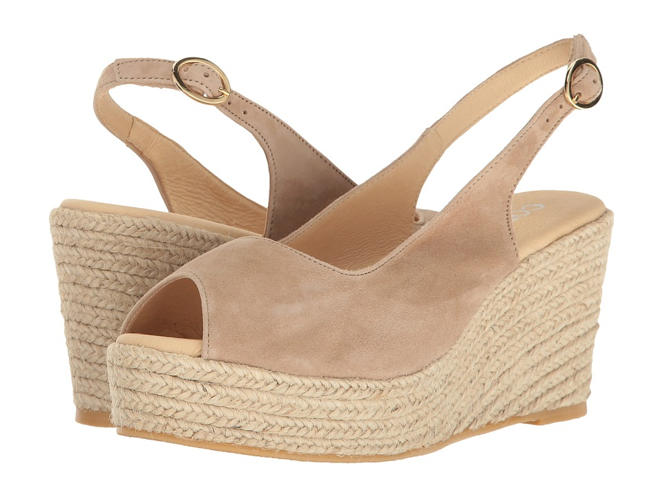 Cordani - Evan (Taupe Suede) Women's Wedge Shoes