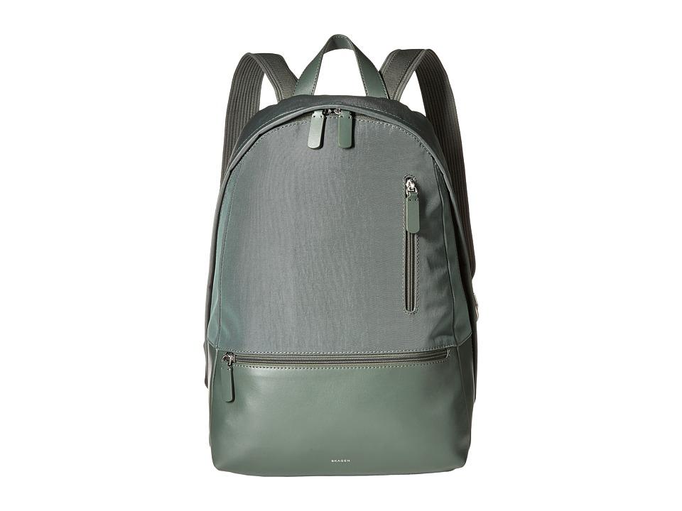 Skagen - Kroyer Backpack (Agave) Backpack Bags