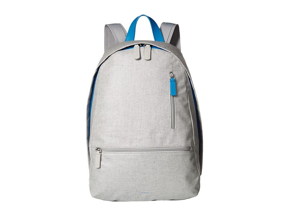 Skagen - Kroyer Linen Backpack (Light Ash) Backpack Bags
