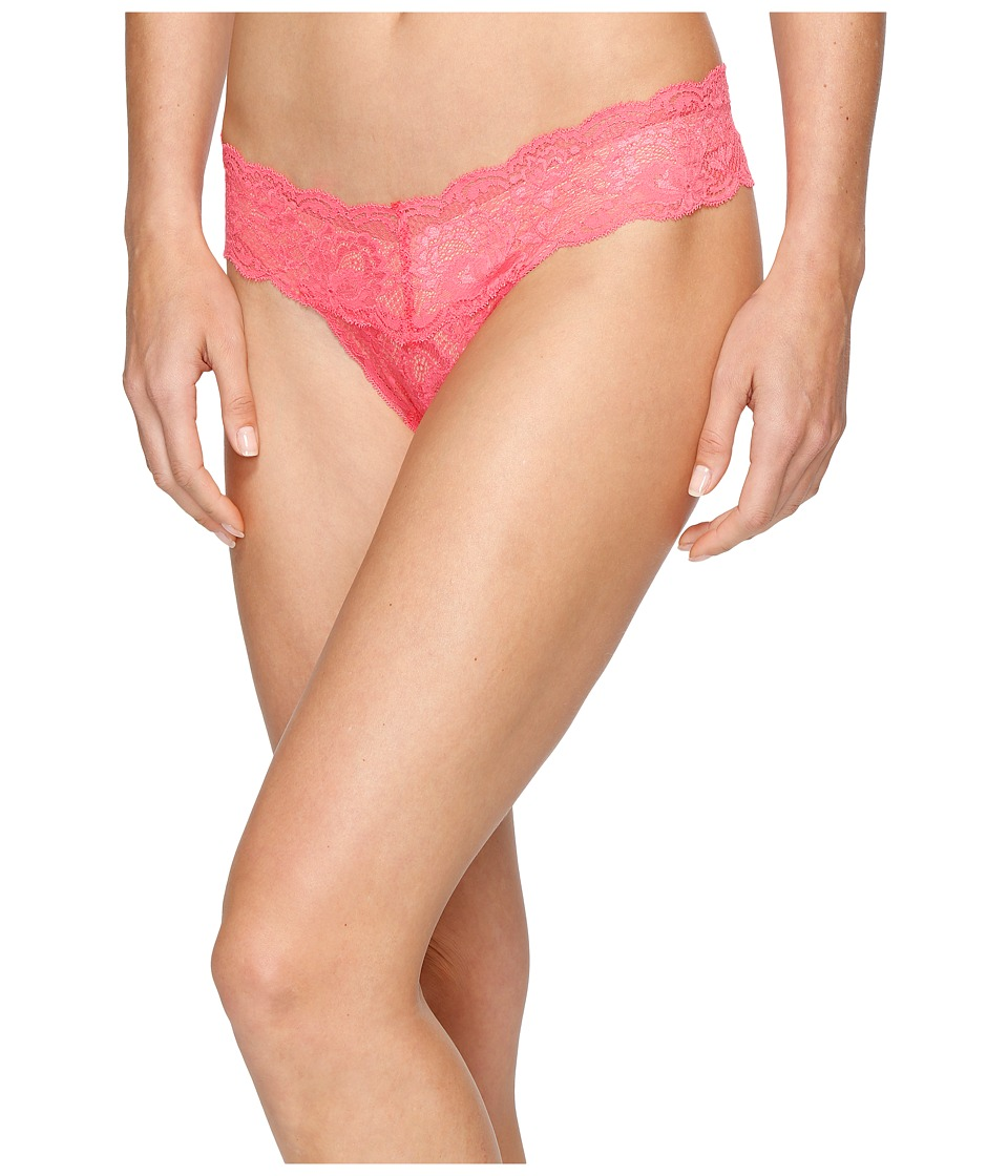 Cosabella - Never Say Never Cutie Lowrider Thong (Coral 1) Women's Underwear
