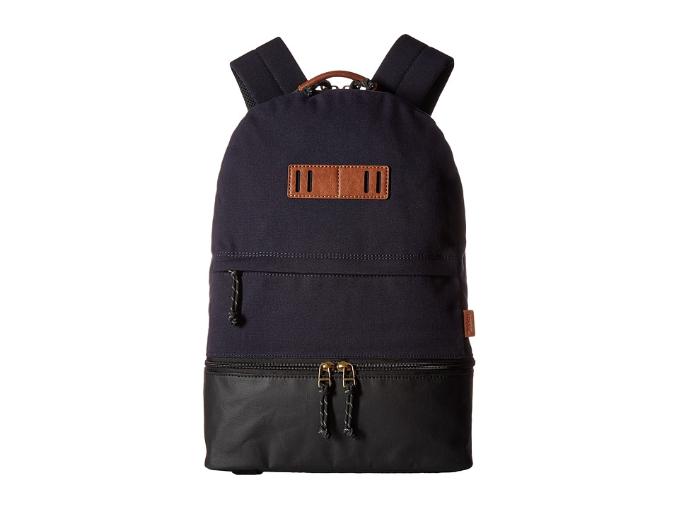 Fossil - Summit Dome Backpack (Navy) Backpack Bags