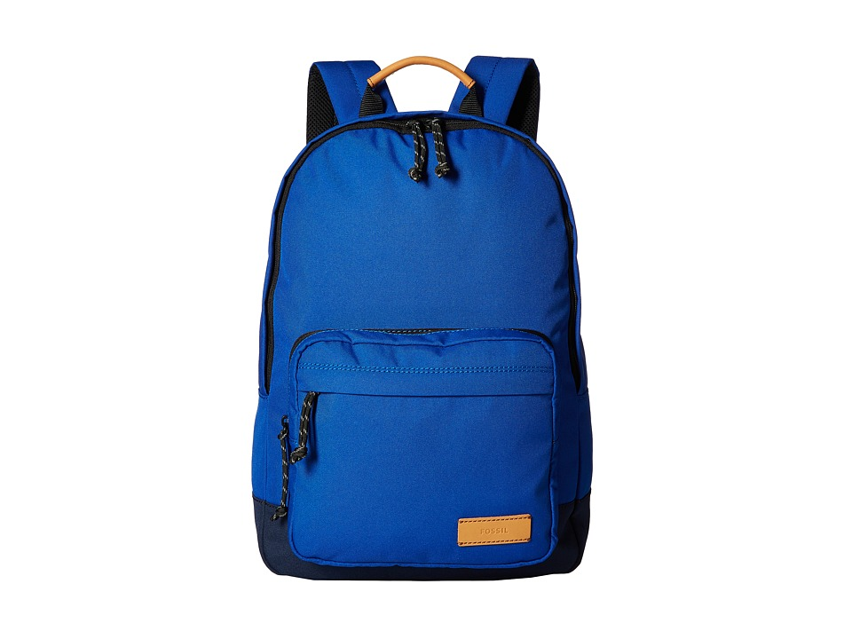 Fossil - Estate Backpack (Blue) Backpack Bags