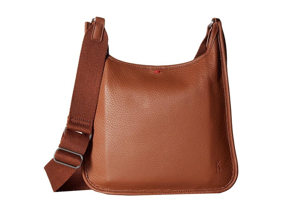 ED Ellen DeGeneres - Fremont Crossbody (Dark Umber) Cross Body Handbags