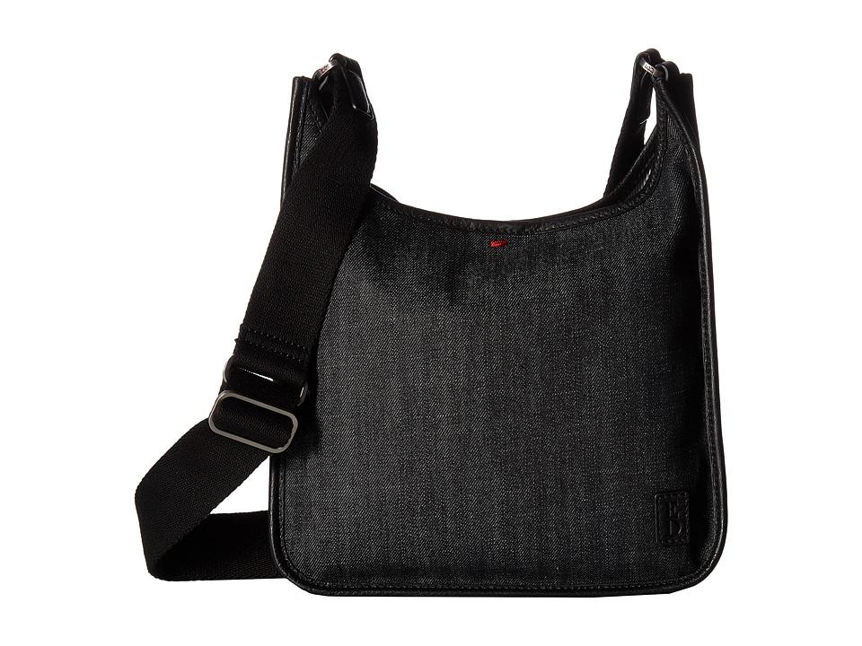 ED Ellen DeGeneres - Fremont Crossbody 1 (Dark Denim/Black) Cross Body Handbags