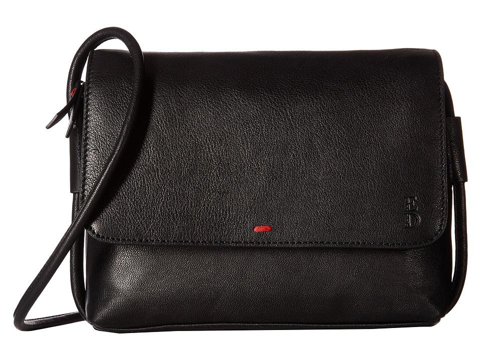 ED Ellen DeGeneres - Monterey Crossbody (Black/Black) Cross Body Handbags