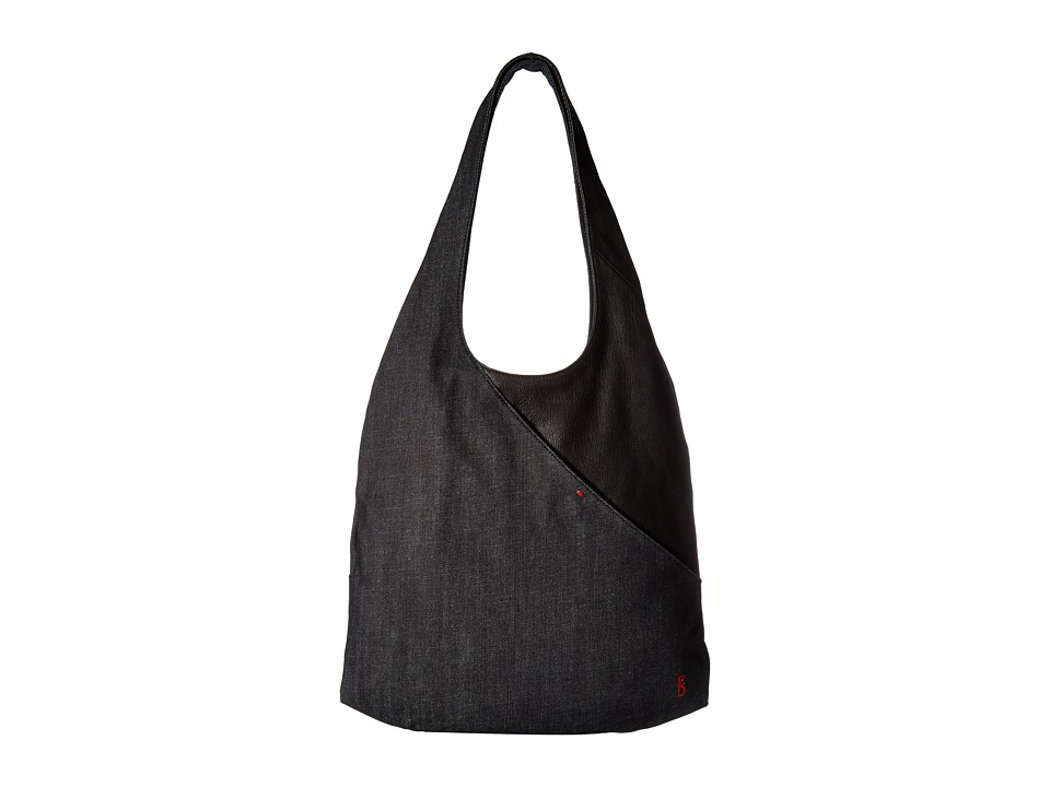 ED Ellen DeGeneres - Monterey Hobo 1 (Dark Denim/Black) Hobo Handbags