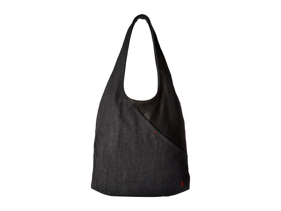 ED Ellen DeGeneres - Monterey Hobo 1 (Dark Denim/Black) Hobo Handbags