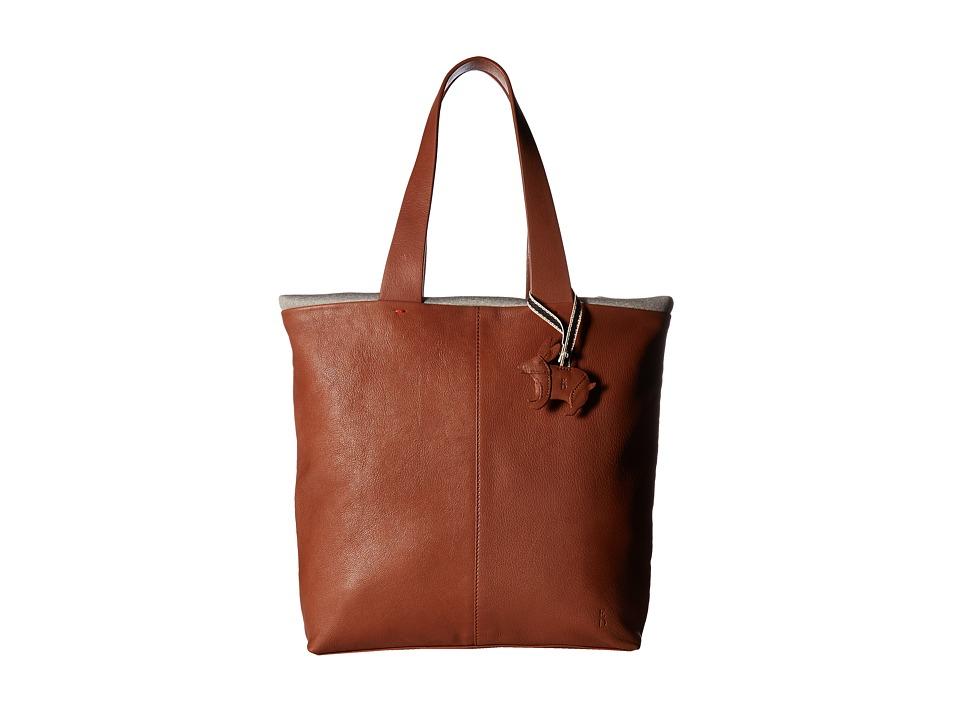 ED Ellen DeGeneres - Monterey Tote (Dark Umber/Heather) Tote Handbags