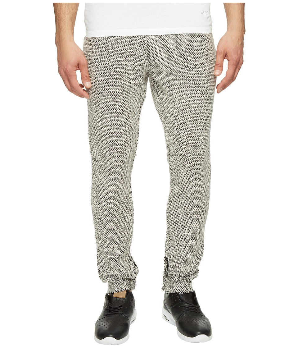 Akomplice - Savile Joggers (Black/White) Men's Casual Pants