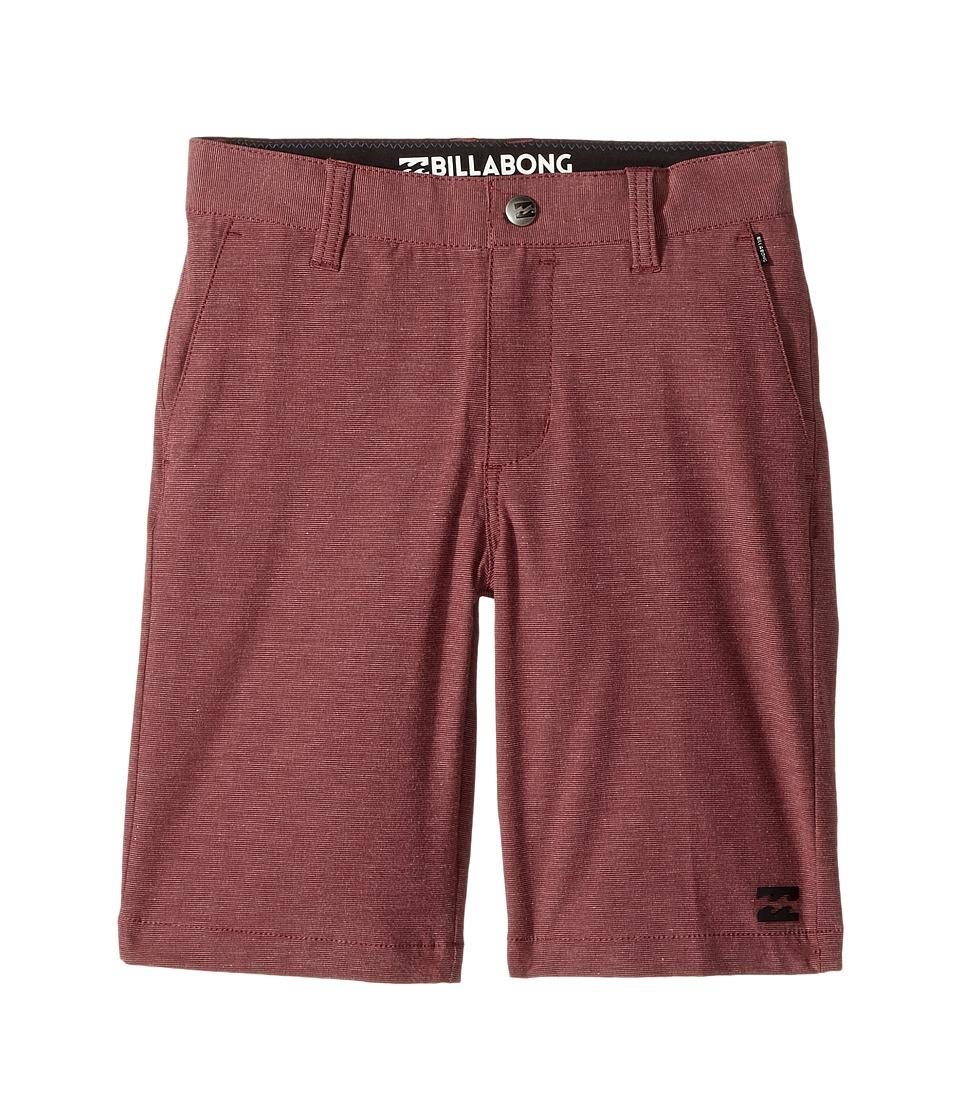 Billabong Kids - Crossfire X Shorts (Toddler/Little Kids) (Fig Heather) Boy's Shorts