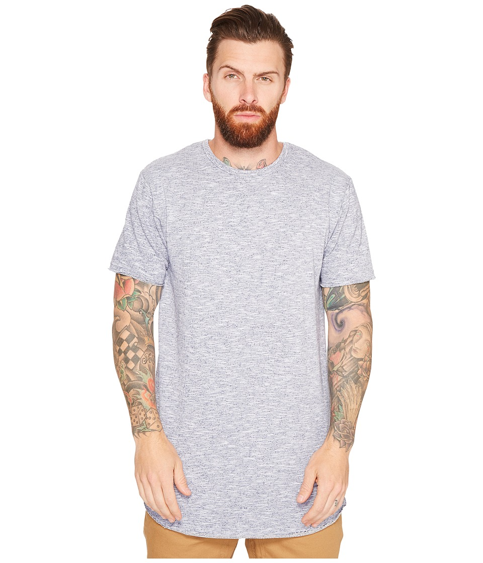 Akomplice - Guadi Raw Cut T-Shirt (Heather Grey) Men's T Shirt
