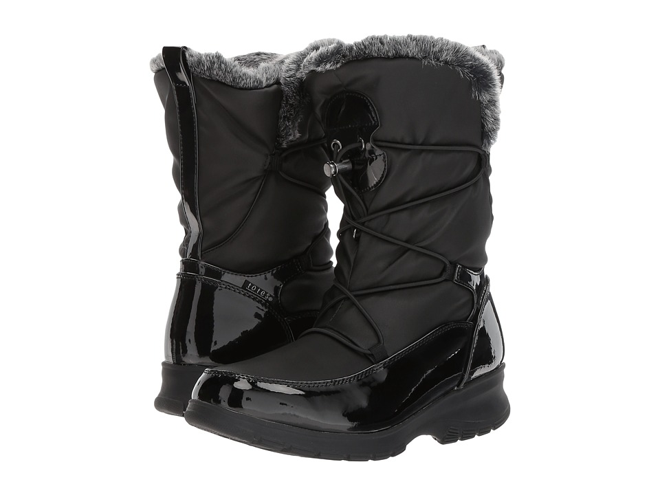 Totes - Vivian (Black) Women's Cold Weather Boots