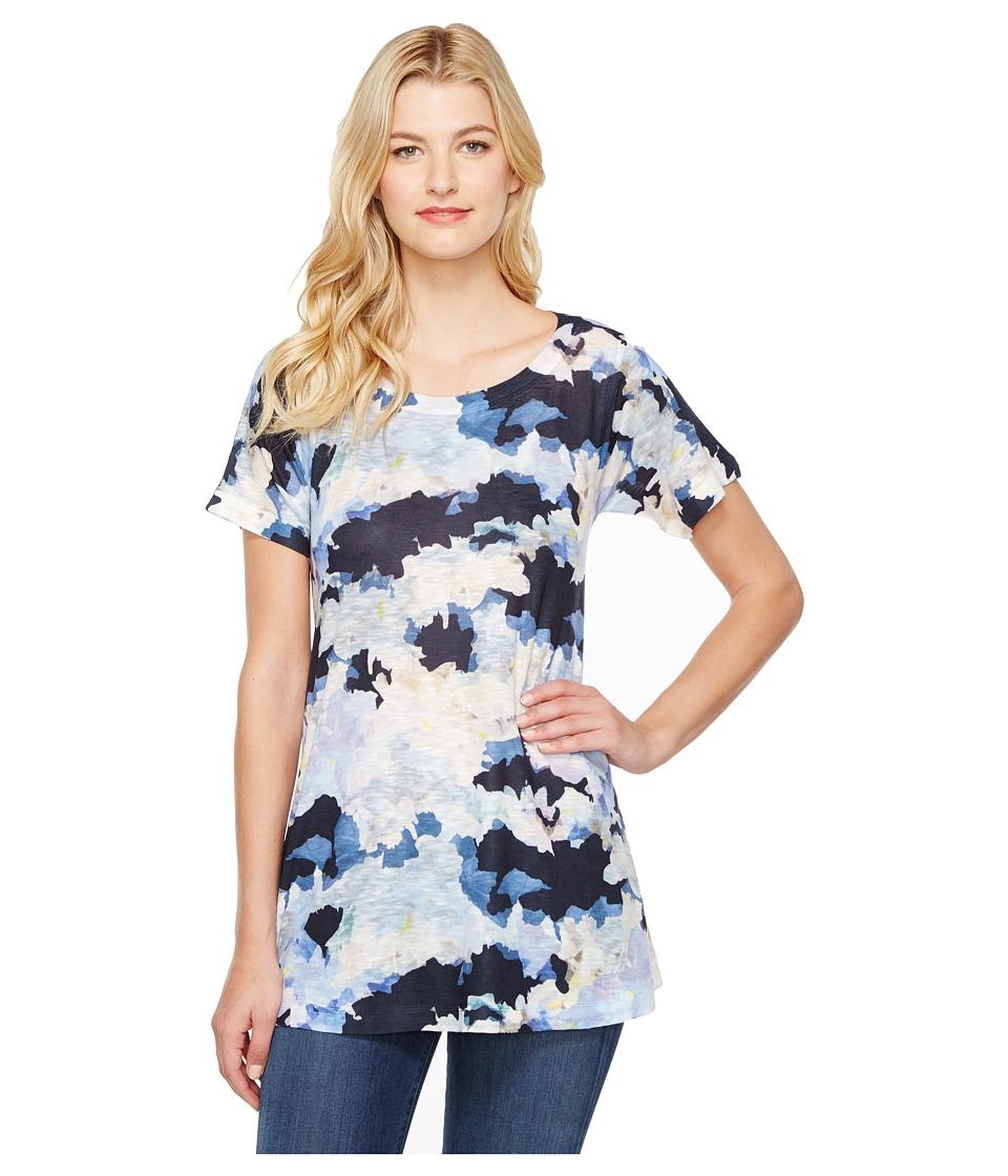Nally & Millie - Cloud Print Tunic (Multi) Women's Clothing