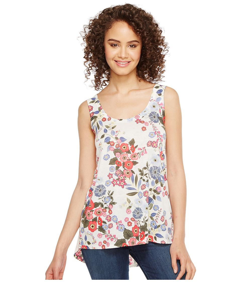 Nally & Millie - Floral Print Tank Top (Multi) Women's Sleeveless
