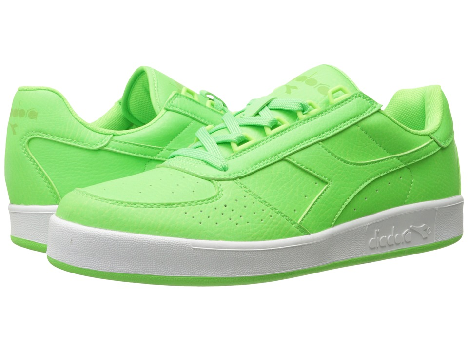 Diadora - B.Elite Bright (Green Flash) Athletic Shoes