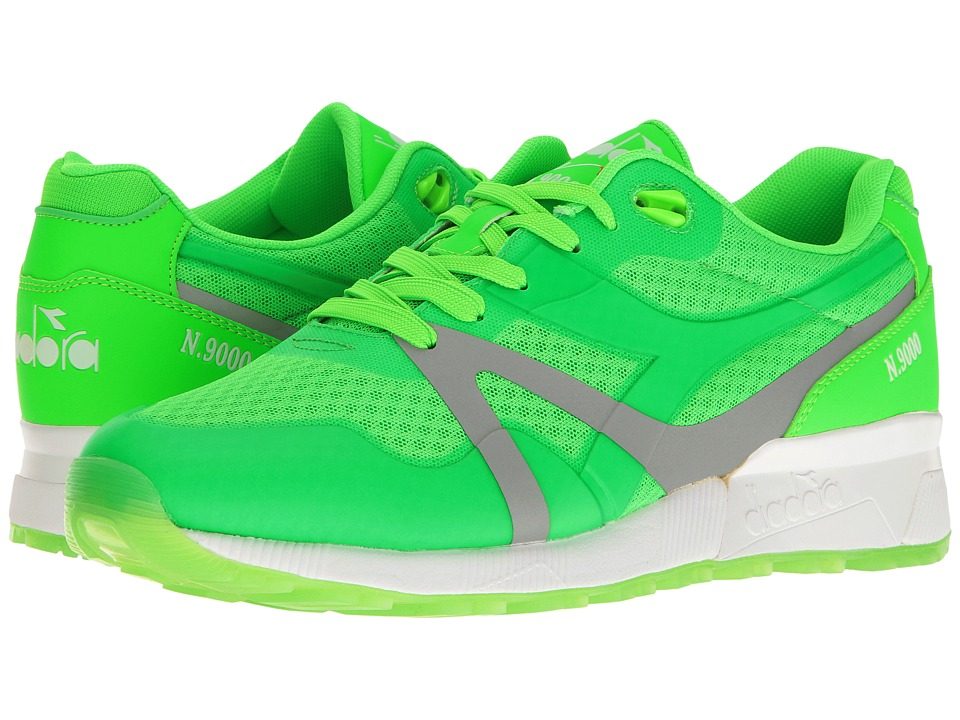 Diadora N9000 MM Bright (Green Fluo Special) Athletic Shoes