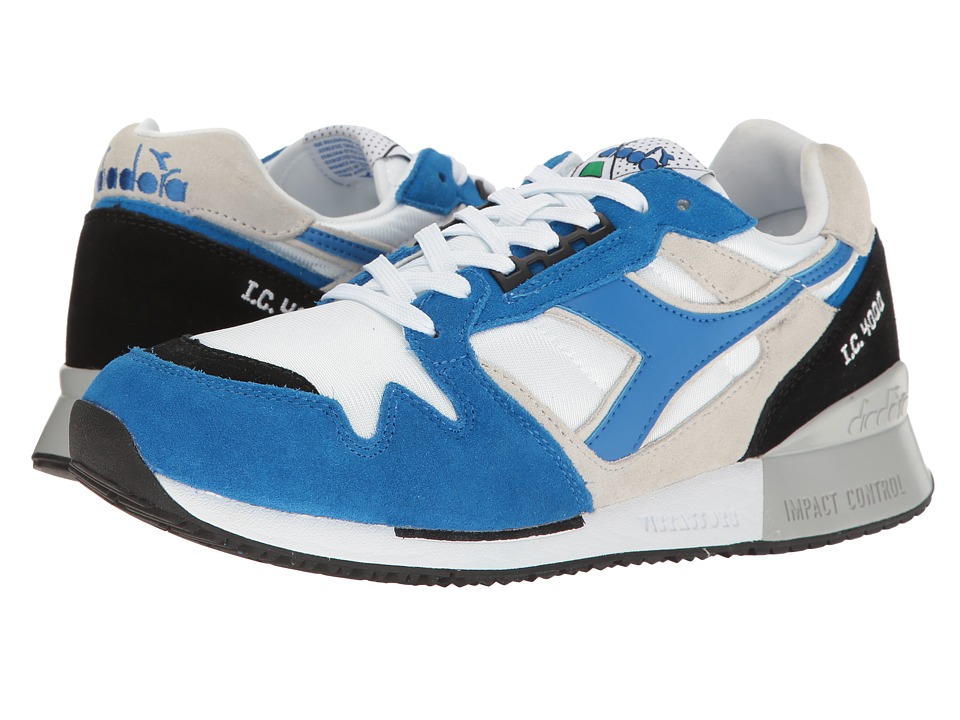 Diadora - I.C 4000 NYL II (White/Princess Blue/Black) Athletic Shoes