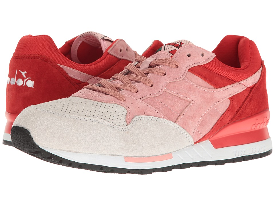 Diadora - Intrepid Premium (Blossom/Fiery Red) Athletic Shoes