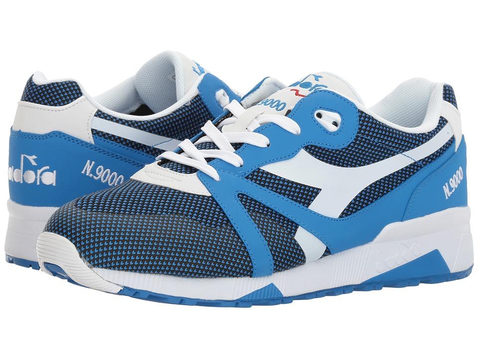 Diadora N9000 Arrowhead (Campanula Blue) Athletic Shoes