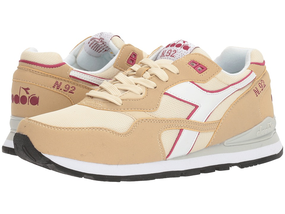 Diadora - N-92 (Beige Bleached) Athletic Shoes