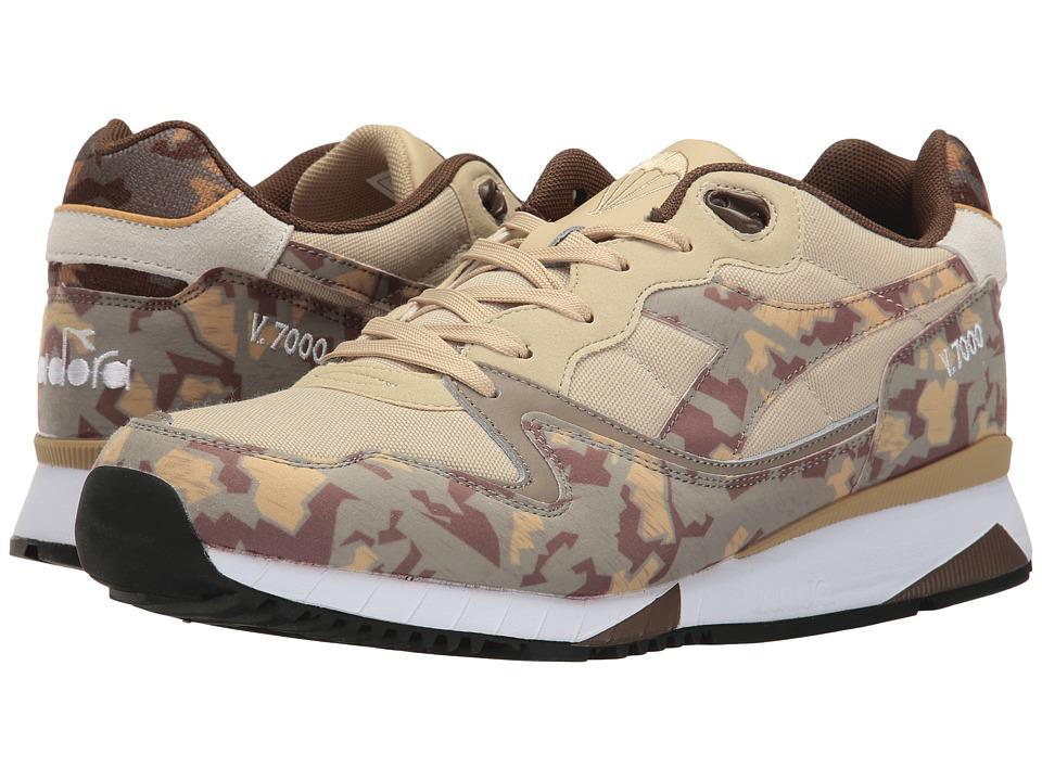 Diadora V7000 Camo (Beige Mojave Desert) Athletic Shoes