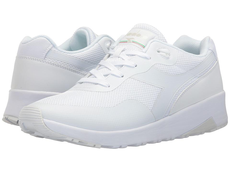 Diadora - Evo Run (White) Athletic Shoes