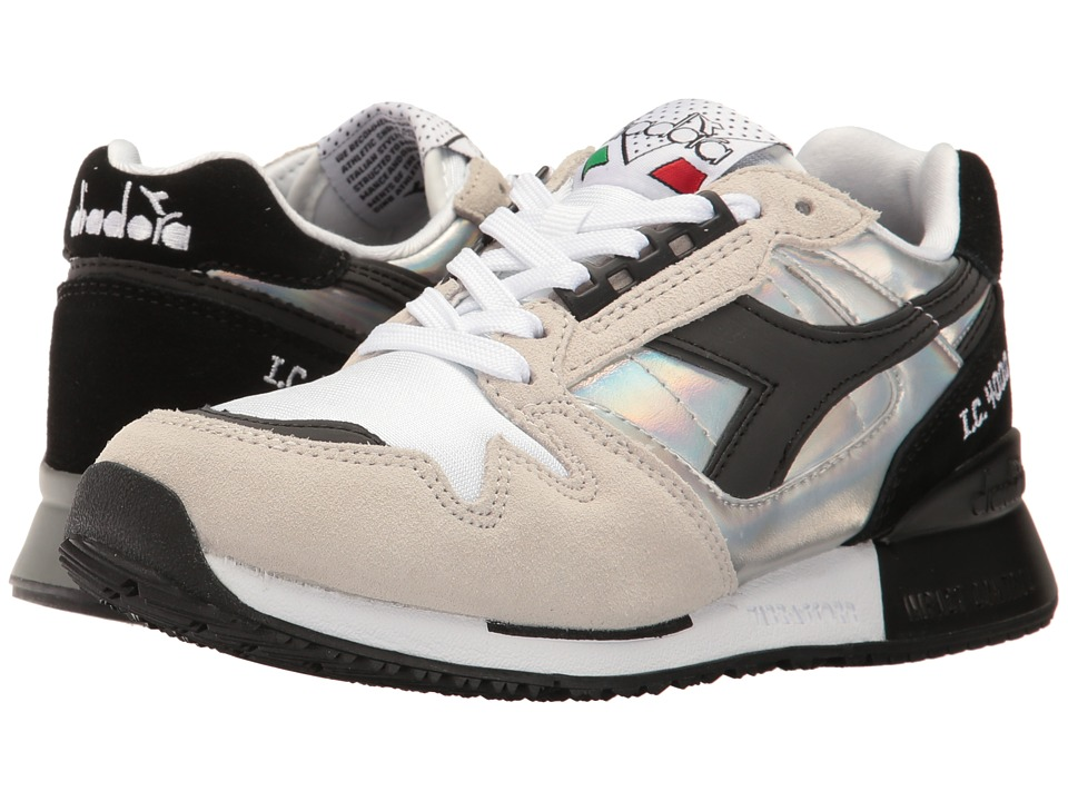 Diadora - IC 4000 Hologram (White) Athletic Shoes
