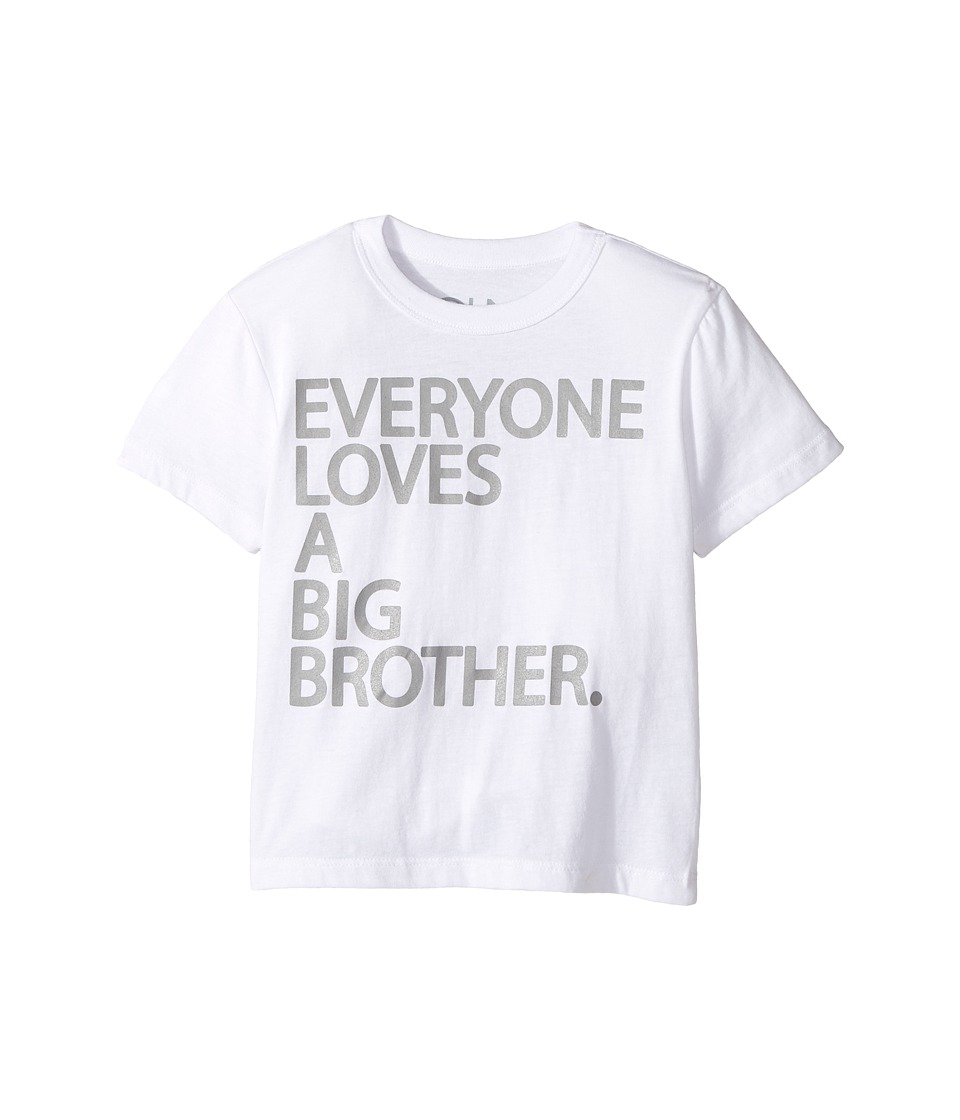 Chaser Kids - Big Brother Tee (Toddler/Little Kids) (White) Boy's T Shirt