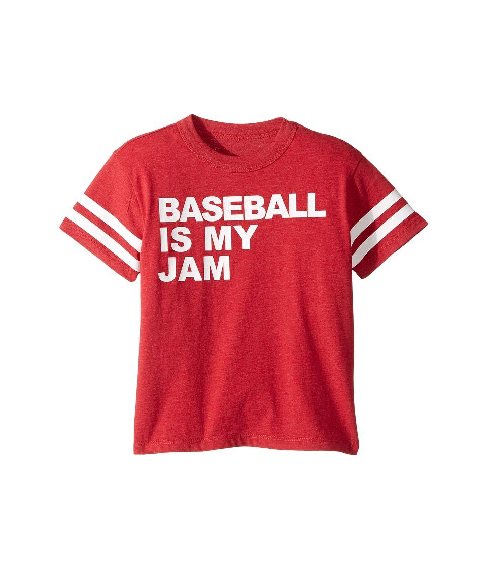 Chaser Kids - Baseball Jam Tee (Toddler/Little Kids) (Cardinal) Boy's T Shirt