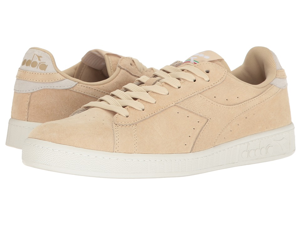 Diadora - Game Low S (Beige Bleached) Athletic Shoes