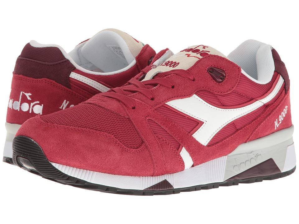 Diadora N9000 III (Violet Red Bud) Athletic Shoes