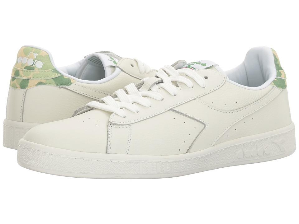 Diadora - Game L Low Camo (Golf Club Green) Athletic Shoes
