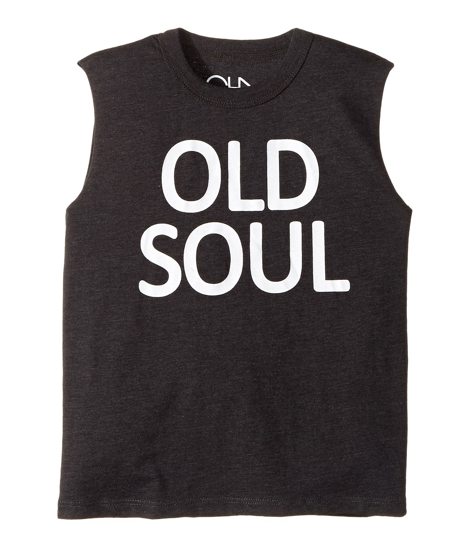 Chaser Kids - Old Soul Tank Top (Little Kids/Big Kids) (Vintage Black) Boy's Sleeveless